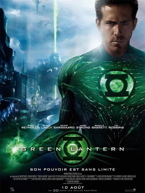 Les personnages de green lantern